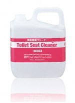 Toilet seat cleaner